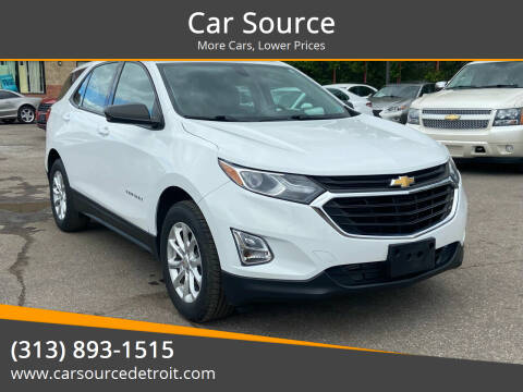 2018 Chevrolet Equinox for sale at Car Source in Detroit MI