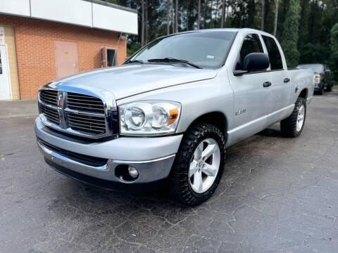 2008 Dodge Ram Pickup 1500 for sale at Magic Motors Inc. in Snellville GA