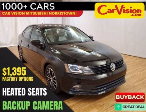 2016 Volkswagen Jetta for sale at Car Vision Buying Center in Norristown PA