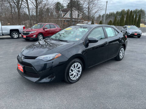 2019 Toyota Corolla for sale at Glen's Auto Sales in Fremont NH