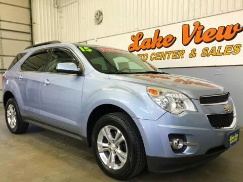 2015 Chevrolet Equinox for sale at Lake View Auto Center and Sales in Oshkosh WI