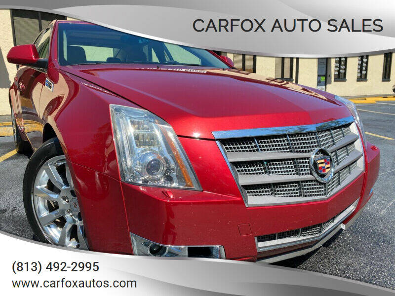 2009 Cadillac CTS for sale at Carfox Auto Sales in Tampa FL