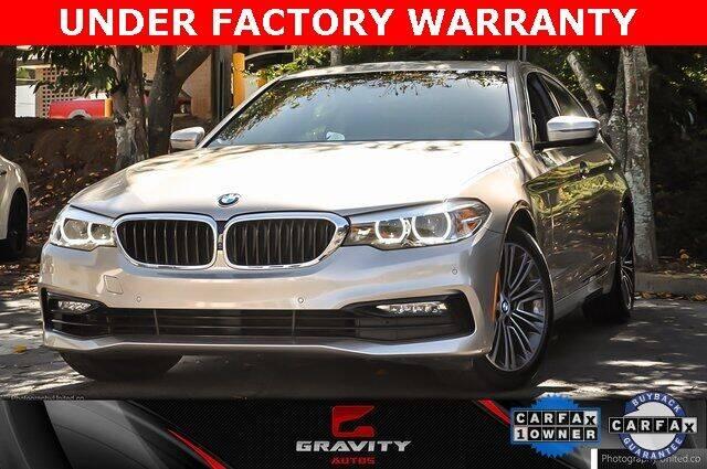 2017 BMW 5 Series for sale at Gravity Autos Atlanta in Atlanta GA