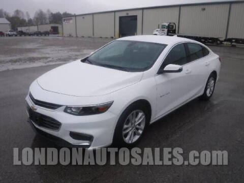 2018 Chevrolet Malibu for sale at London Auto Sales LLC in London KY
