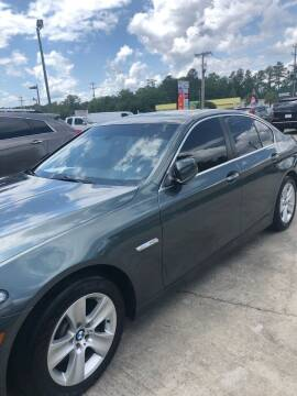 2011 BMW 5 Series for sale at Gralin Hampton Auto Sales in Summerville SC