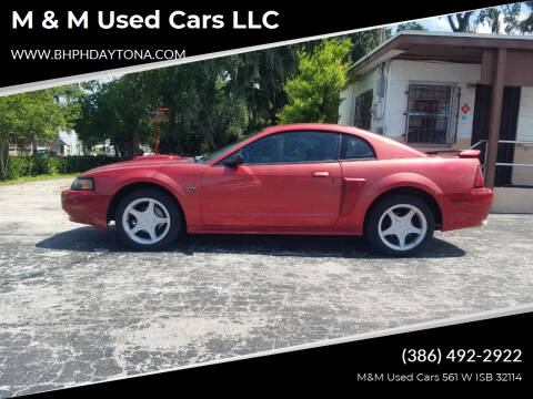 2001 Ford Mustang for sale at M & M Used Cars LLC in Daytona Beach FL