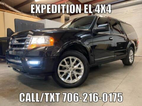 2015 Ford Expedition EL for sale at Primary Auto Group in Dawsonville GA