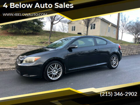 2007 Scion tC for sale at 4 Below Auto Sales in Willow Grove PA