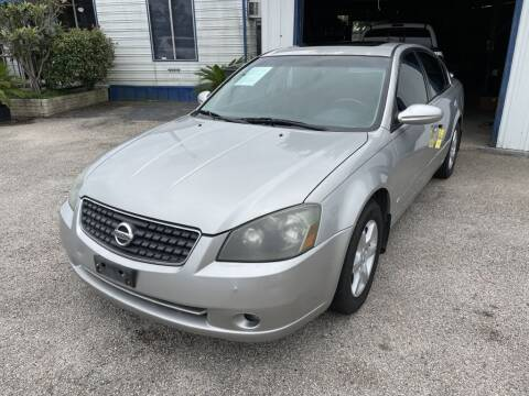 2005 Nissan Altima for sale at AMERICAN AUTO COMPANY in Beaumont TX