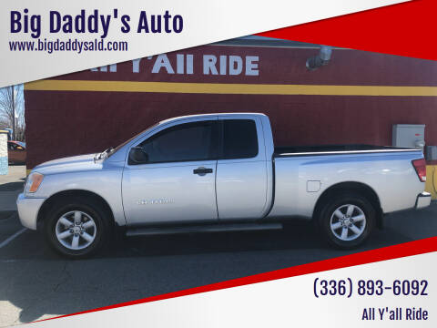 2010 Nissan Titan for sale at Big Daddy's Auto in Winston-Salem NC