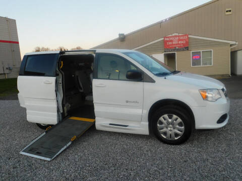 2014 Dodge Grand Caravan for sale at Macrocar Sales Inc in Akron OH