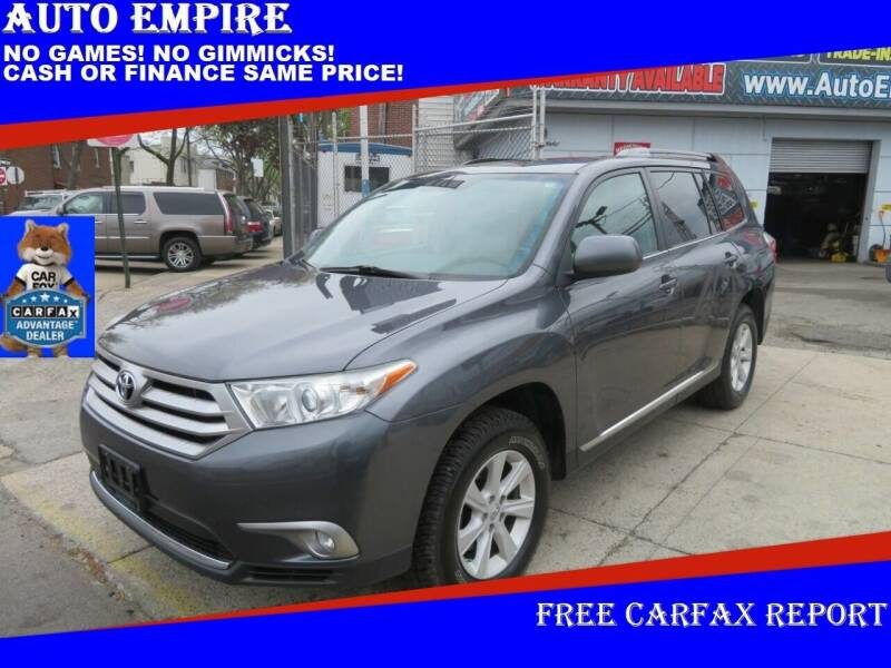 2013 Toyota Highlander for sale at Auto Empire in Brooklyn NY
