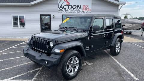 2018 Jeep Wrangler Unlimited for sale at Action Motor Sales in Gaylord MI