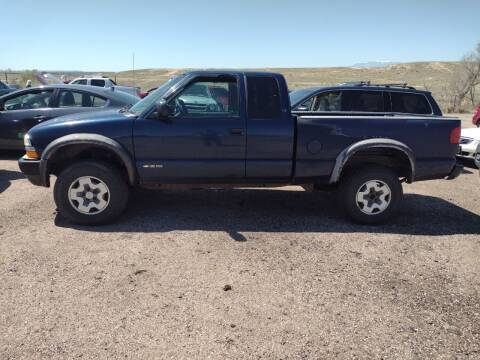 2000 Chevrolet S-10 for sale at PYRAMID MOTORS - Pueblo Lot in Pueblo CO