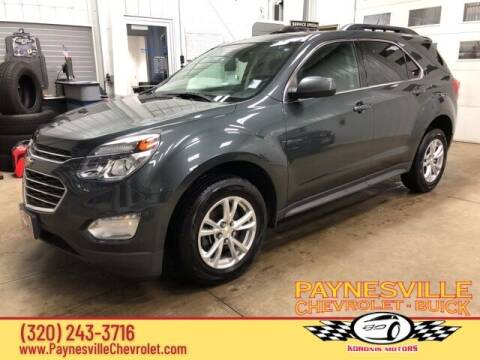 2017 Chevrolet Equinox for sale at Paynesville Chevrolet - Buick in Paynesville MN