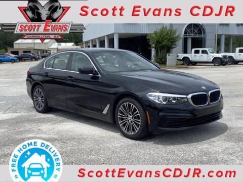 2020 BMW 5 Series for sale at SCOTT EVANS CHRYSLER DODGE in Carrollton GA