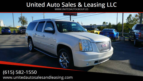 2010 GMC Yukon XL for sale at United Auto Sales & Leasing LLC in La Vergne TN