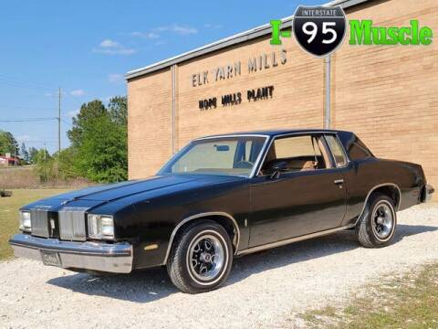 1979 Oldsmobile Cutlass for sale at I-95 Muscle in Hope Mills NC