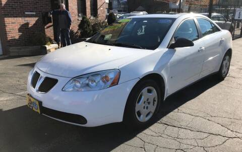 2007 Pontiac G6 for sale at Adams Street Motor Company LLC in Dorchester MA