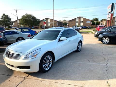2008 Infiniti G35 for sale at Car Gallery in Oklahoma City OK
