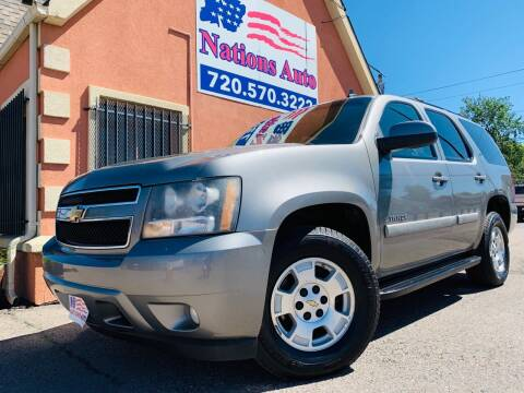 2007 Chevrolet Tahoe for sale at Nations Auto Inc. II in Denver CO