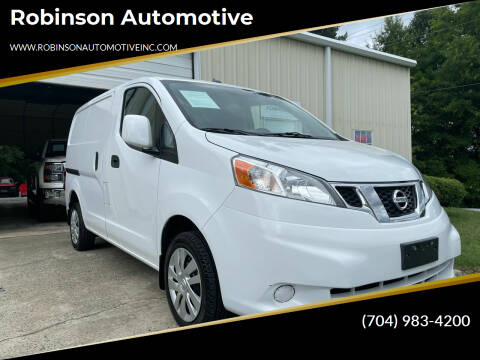 2015 Nissan NV200 for sale at Robinson Automotive in Albemarle NC