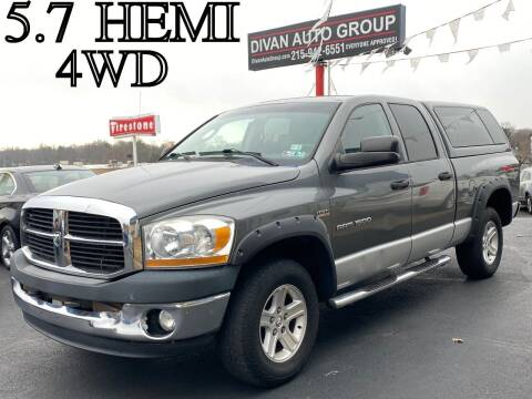 2006 Dodge Ram Pickup 1500 for sale at Divan Auto Group in Feasterville PA