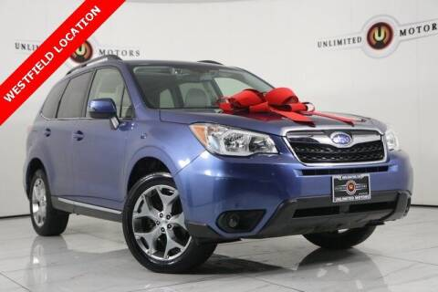 2016 Subaru Forester for sale at INDY'S UNLIMITED MOTORS - UNLIMITED MOTORS in Westfield IN