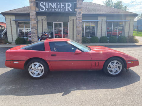 1990 Chevrolet Corvette for sale at Singer Auto Sales in Caldwell OH