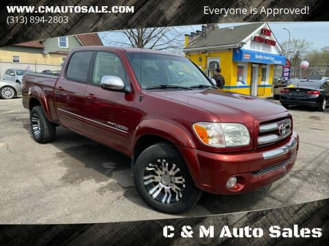 2005 Toyota Tundra for sale at C & M Auto Sales in Detroit MI