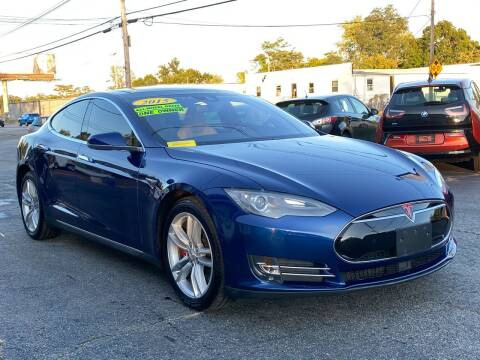2015 Tesla Model S for sale at MetroWest Auto Sales in Worcester MA