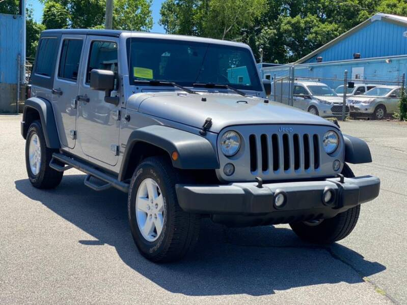 2016 Jeep Wrangler Unlimited for sale in Ashland, MA