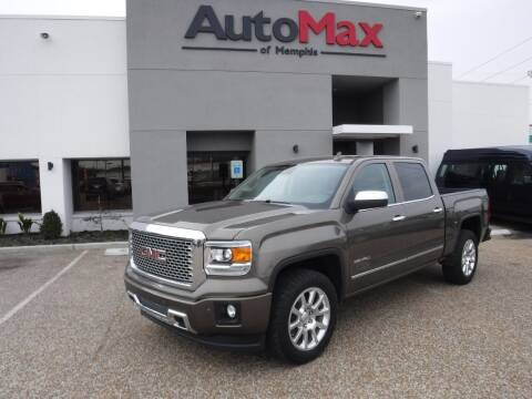 2015 GMC Sierra 1500 for sale at AutoMax of Memphis - Logan Karr in Memphis TN