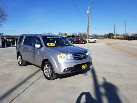 2013 Honda Pilot for sale at Bostick's Auto & Truck Sales in Brownwood TX