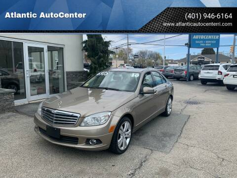 2010 Mercedes-Benz C-Class for sale at Atlantic AutoCenter in Cranston RI