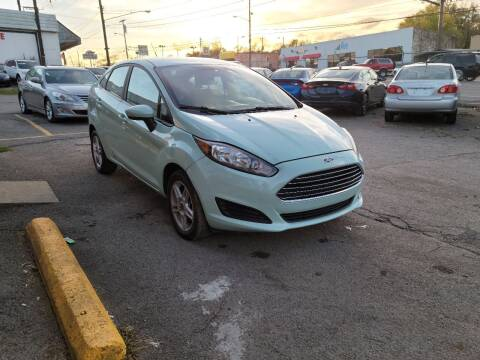 2017 Ford Fiesta for sale at Green Ride Inc in Nashville TN
