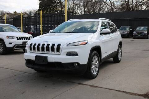2015 Jeep Cherokee for sale at F & M AUTO SALES in Detroit MI