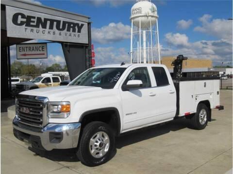 2015 GMC Sierra 2500HD for sale at CENTURY TRUCKS & VANS in Grand Prairie TX