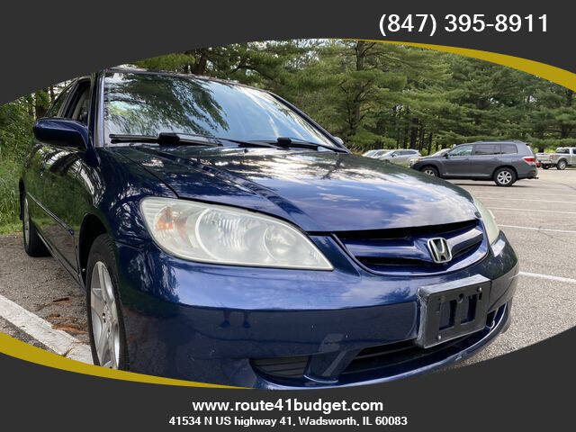 2005 Honda Civic for sale at Route 41 Budget Auto in Wadsworth IL