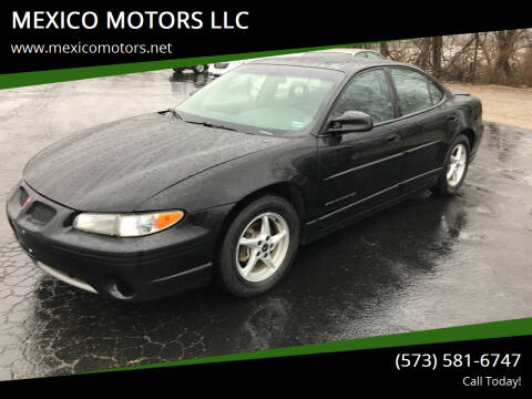 2000 Pontiac Grand Prix for sale at MEXICO MOTORS LLC in Mexico MO