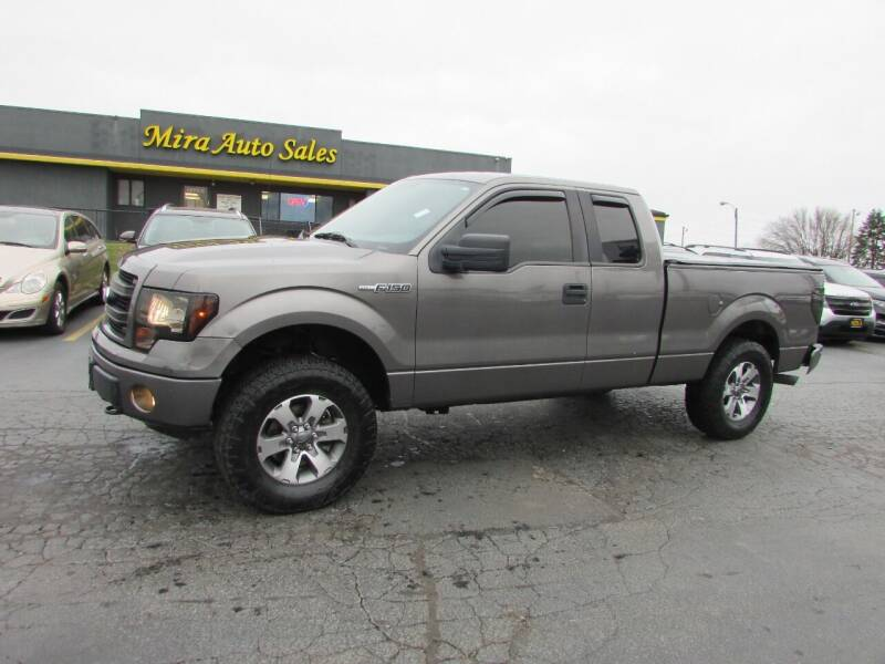2013 Ford F-150 for sale at MIRA AUTO SALES in Cincinnati OH