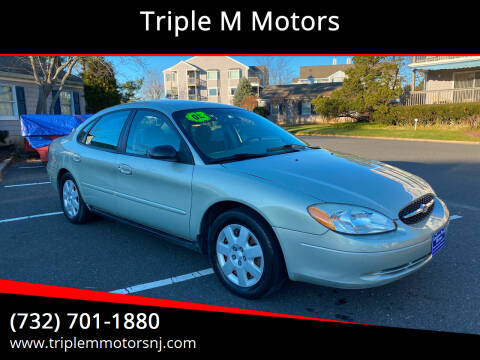 2003 Ford Taurus for sale at Triple M Motors in Point Pleasant NJ