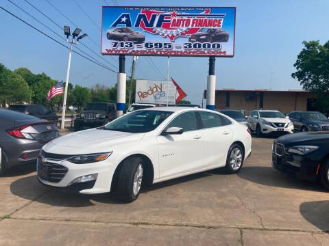 2020 Chevrolet Malibu for sale at ANF AUTO FINANCE in Houston TX