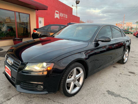 2010 Audi A4 for sale at New To You Motors in Tulsa OK