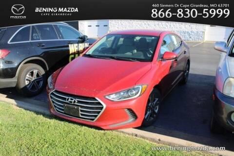 2017 Hyundai Elantra for sale at Bening Mazda in Cape Girardeau MO