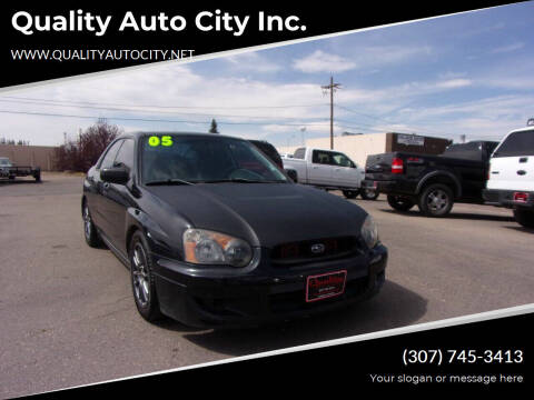 2005 Subaru Impreza for sale at Quality Auto City Inc. in Laramie WY