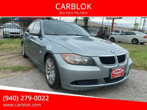2006 BMW 3 Series for sale at CARBLOK in Lewisville TX