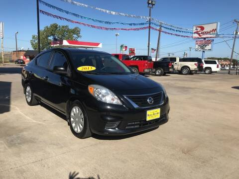 2013 Nissan Versa for sale at Russell Smith Auto in Fort Worth TX