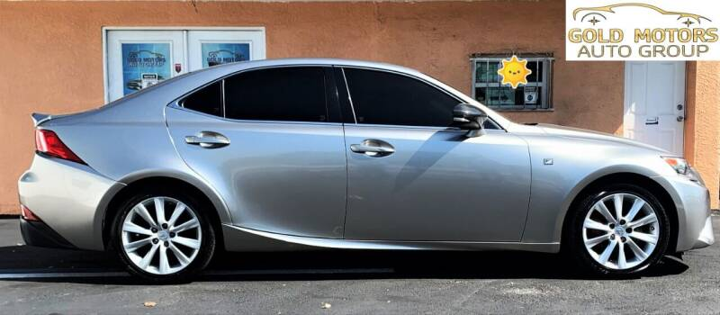2016 Lexus IS 300 for sale at Gold Motors Auto Group Inc in Tampa FL