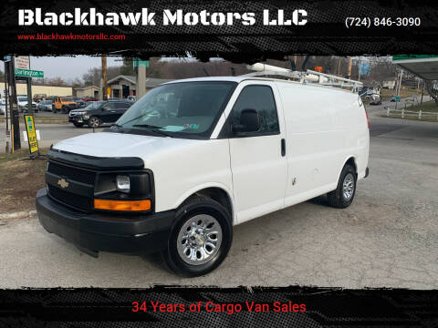 2010 Chevrolet Express Cargo for sale at Blackhawk Motors LLC in Beaver Falls PA